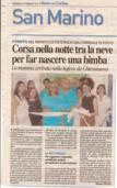 12.02.2012 CORSA NELLA NOTTE IN MEZZO ALLA BUFERA DI NEVE DELLA DOTT.SSA VITTORIA MARTIRE
