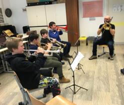 Laboratori di pratica strumentale e musica d'insieme alle scuole medie