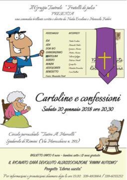 Una commedia teatrale a favore di Rimini Autismo