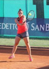 Caterina Pruccoli si piazza nei quarti nel torneo Open di Lugagnano