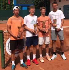 Alexander Binda si ferma solo in finale nel torneo Junior Tour di Shymkent
