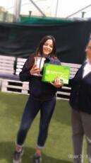Erika Di Muzio fa centro nel tabellone under 14 della Coppa delle Viole