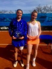 Isabella Tcherkes Zade conquista il titolo in doppio anche nel torneo Junior Tour di Cap d'Ail