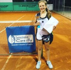 La giovanissima Sara Totorizzo entra a far parte della Galimberti Tennis Academy San Marino