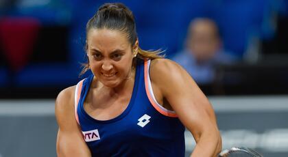 WTA di Nanchang (doppio): Barbieri e Melnikova fuori nei quarti.