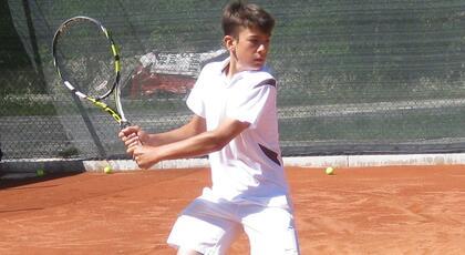 Junior Slovenia Open: meraviglioso Sforza, batte il n.1 e centra il main draw.