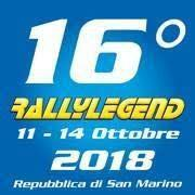 Rally Legend San Marino 2018