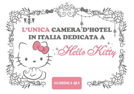 Qui trovi l'unica camera d'hotel in Italia dedicata a Hello Kitty 😯