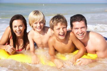 Uno splendido FINE GIUGNO con i bimbi sulle morbide spiagge della Riviera