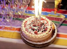 September a special party birthday or anniversary in Hotel by the sea at Rimini Italy