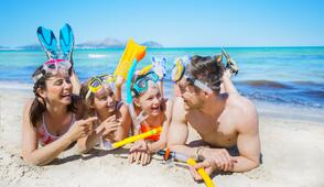 All Inclusive June proposal in Rimini hotel with children discounts and family deal