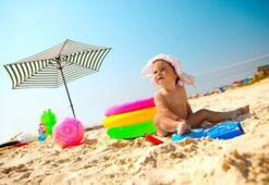 Début juin à la mer en hotel à Rimini près de la mer en Italie sur la côte Adriatique