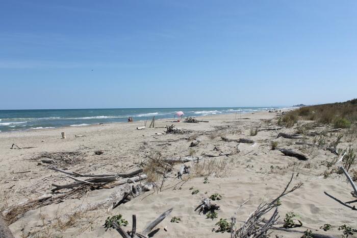 Spiaggia naturale incontaminata