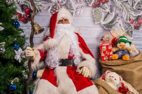 Babbo Natale ha iniziato il suo viaggio per le filiali Banca di San Marino