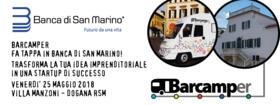 Il Barcamper fa tappa in Banca di San Marino