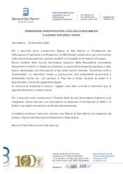FORMAZIONE INNOVATIVA PER I LICEI DELLA REPUBBLICA A LEZIONE CON BSM E FEDUF
