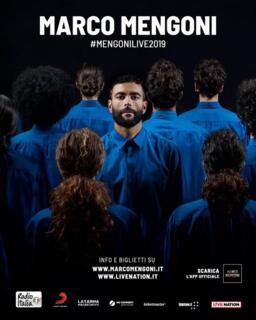 Concerto MARCO MENGONI - RDS Stadium, Rimini