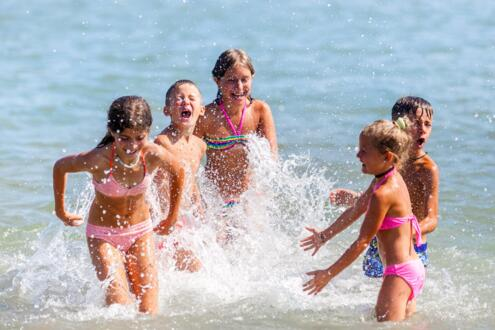 Sea offer in September for families at € 43.00 all inclusive.
