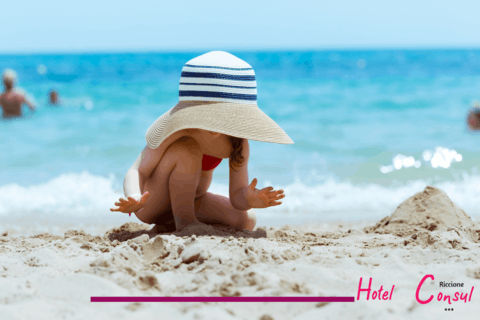 Last minute offer late July early August Riccione: children 15.00 euros from 3 to 17 years