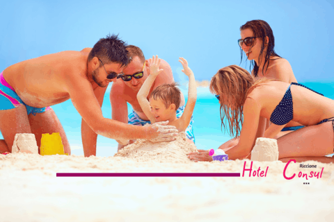 Offer 1st week of July in Riccione: all inclusive with discounts for children
