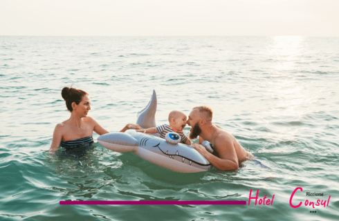 Third week of September in Riccione at 40,00 euros per day all inclusive