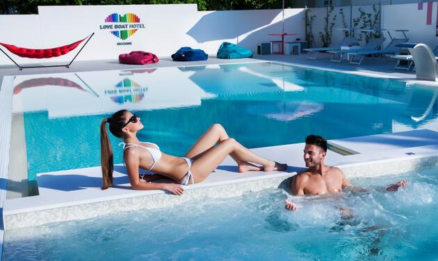 Speciale luglio a Riccione all'insegna di benessere, relax e privacy