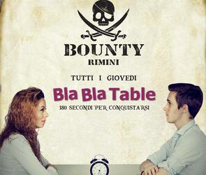 BLA BLA TABLE - 180 SECONDI PER CONQUISTARSI