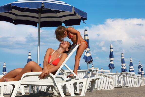 Première semaine août hotel avec zone relax à Cervia