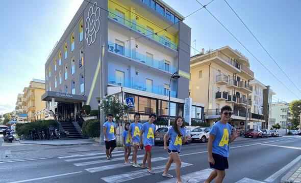 Offres tout compris première semaine d'août hôtel face mer Riccione