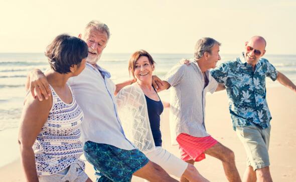 Vacanze di settembre tutti in spiaggia fino all'ultimo raggio di sole!