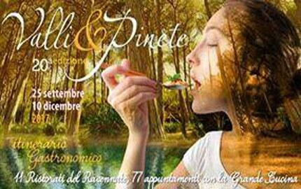 VALLI   &   PINETE  itinerari gastronomici