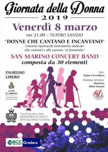 08 MARZO 2019 - TEATRO SANZIO - Urbino