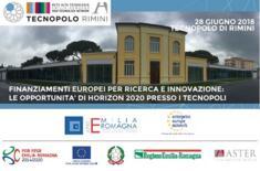 Convegno Finanziamenti Europei per Ricerca e Innovazione: le opportunità di Horizon 2020