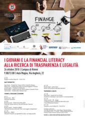 'I GIOVANI E LA FINANCIAL LITERACY, ALLA RICERCA DI TRASPARENZA E LEGALITÀ'
