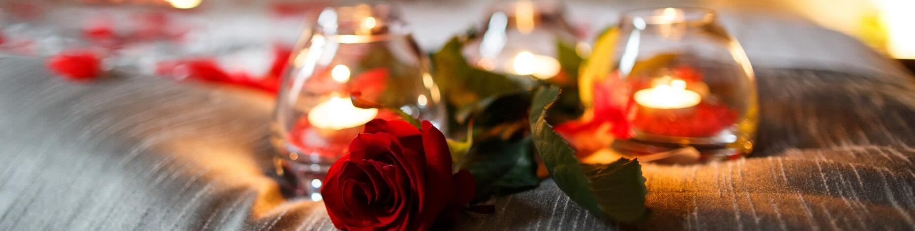 San Valentine Offer in Rimini at romantic hotel with spa