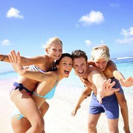 Offerta 2° e 3° settimana di Giugno in hotel a Rimini proprio sul mare, Spiaggia e bambini Gratuti!