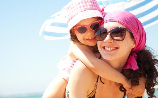 September offer Rimini at the beach with your family! Private beach included and children free!