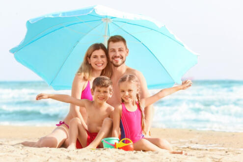Offer July Rimini 3-star hotel on the sea with private beach Included in the price Children free