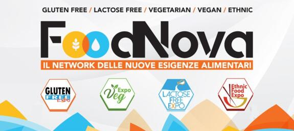 GLUTEN FREE EXPO + LACTOSE FREE EXPO + EXPO VEG + ETHNIC FOOD EXPO + VEGAN FEST   FOODNOVA