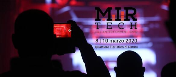 MIR MUSIC INSIDE RIMINI EXPO | Elettronica, Innovazione, Tecnologia, Luci, Audio e Video