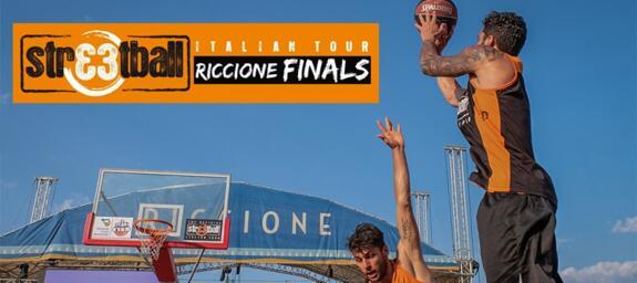 Streetball Italian Tour | a Riccione la Finale del Torneo 3 vs 3 di Street Basket | FISB