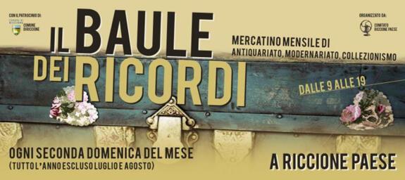 Il Baule Dei Ricordi | Mercatino di Antiquariato, Modernariato, Vintage e Collezionismo a Riccione