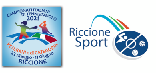 CAMPIONATI ITALIANI DI TENNISTAVOLO E PING PONG TOUR 2021 A RICCIONE   Veterani e di Categoria