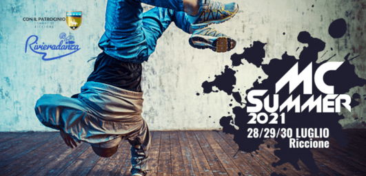Riccione Mc Summer Hip Hop Contest 2021   Street dance: stages, contests, challenges, labs
