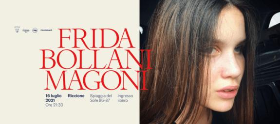 FRIDA BOLLANI MAGONI IN CONCERTO   CONCERTI IN SPIAGGIA A RICCIONE EVENTI GRATUITI GRATIS 2021