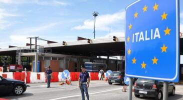June 3 Italy opens the borders with Europe