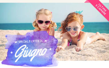 Offer June from 23 to 06 30 to 06 at Rimini Hotel with Pool and Whirlpool Animation