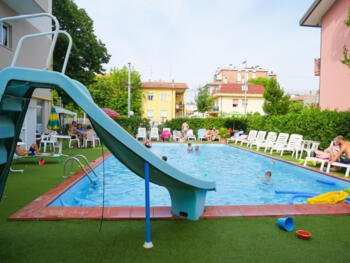 June Offer All inclusive, Rimini Three Star Hotel with Pool, Entertainment and Parking