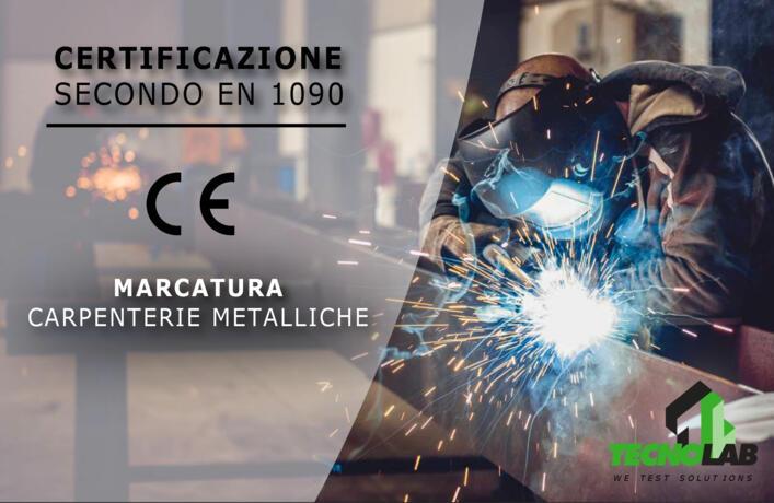 Certificazione Secondo EN1090