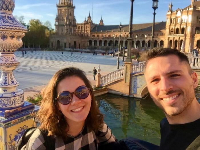 Erik è tornato dall' Erasmus a Siviglia